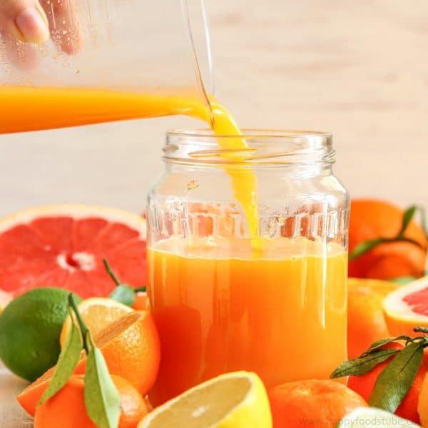Homemade Anti-Aging Citrus Juice