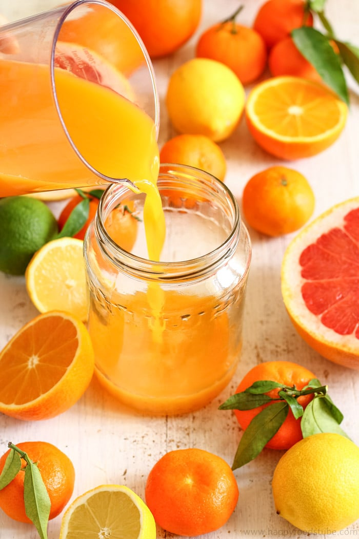 Reduce wrinkles with this Homemade Anti-Aging Citrus Juice Recipe