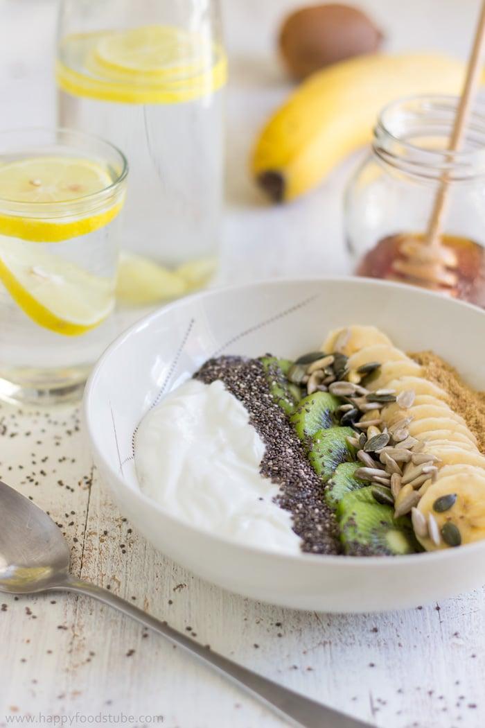 Super Healthy Breakfast Bowl Recipe Happy Foods Tube