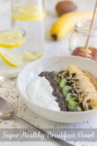 Super Healthy Breakfast Bowl Pin