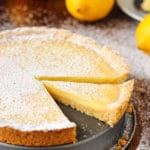 Homemade lemon tart pin