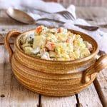 Lighter Dill Pickle Potato Salad