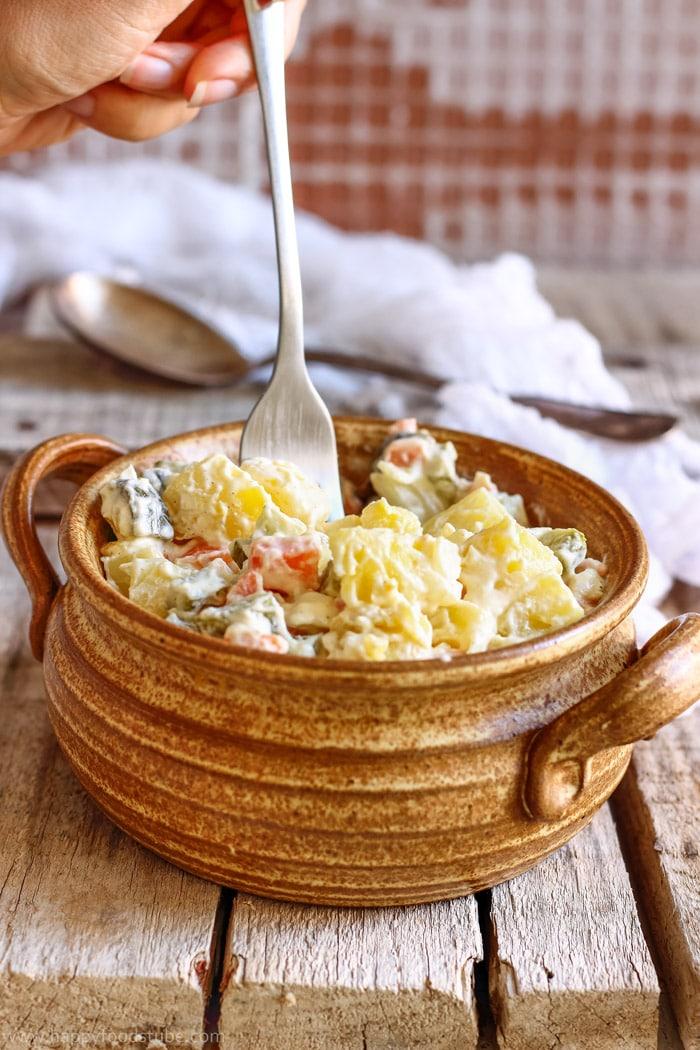 Lighter Dill Pickle Potato Salad Photo
