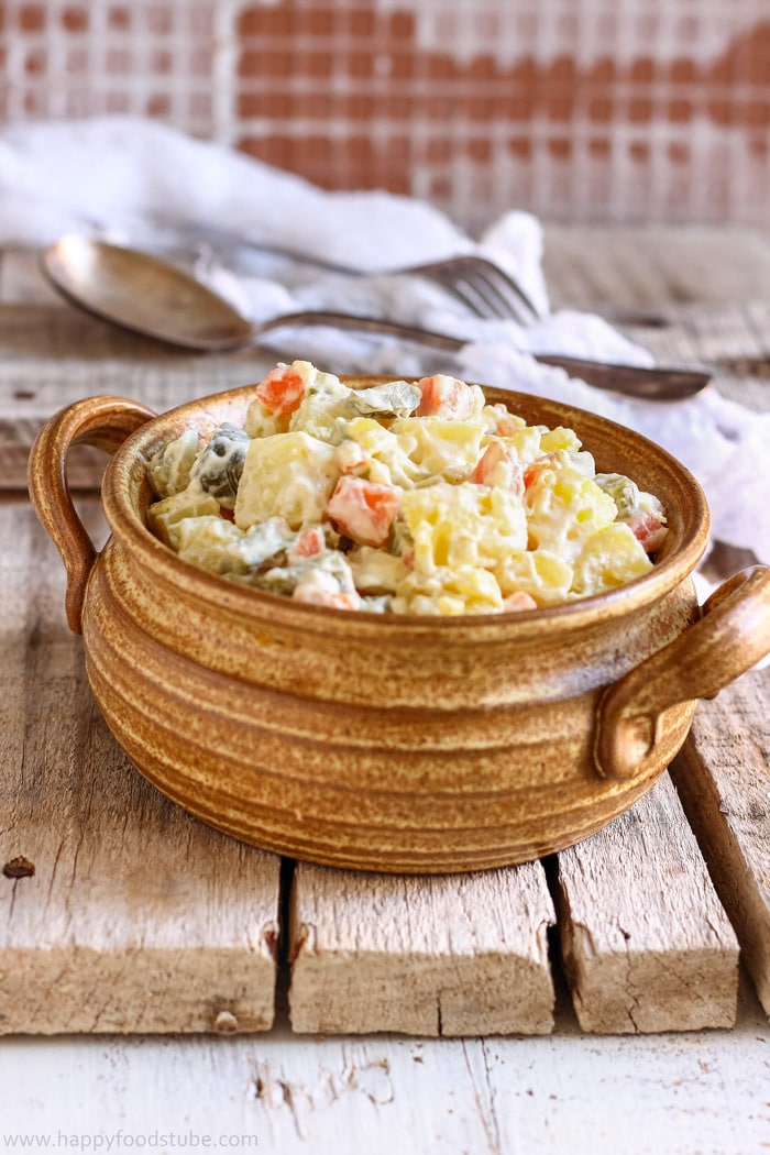 Lighter Dill Pickle Potato Salad Picture
