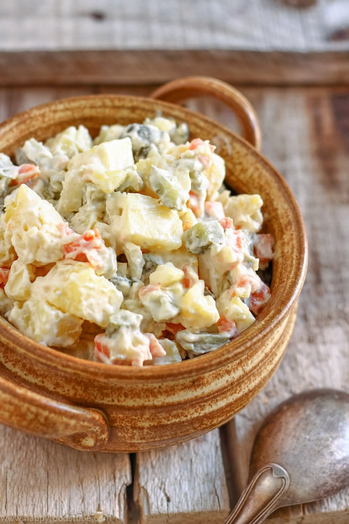 Lighter Dill Pickle Potato Salad Pictures
