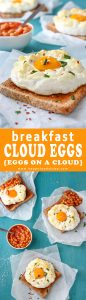 Breakfast Cloud Eggs Recipe Picture