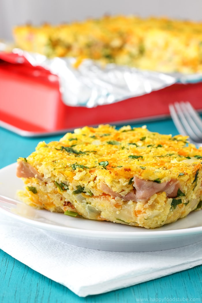 Cauliflower Bake with Blue Cheese & Prosciutto Picture