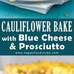 Cauliflower Bake with Blue Cheese & Prosciutto Recipe Picture
