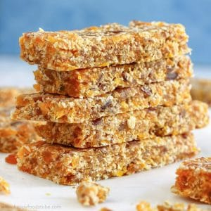 Fruity No Bake Energy Bars Image