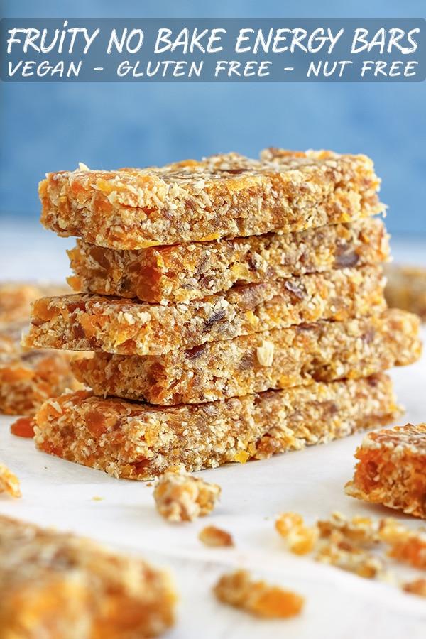Fruity No Bake Energy Bars Recipe