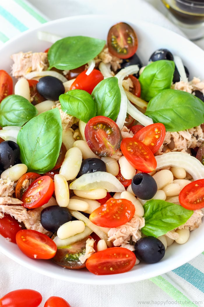 Tuna White Bean Salad Images