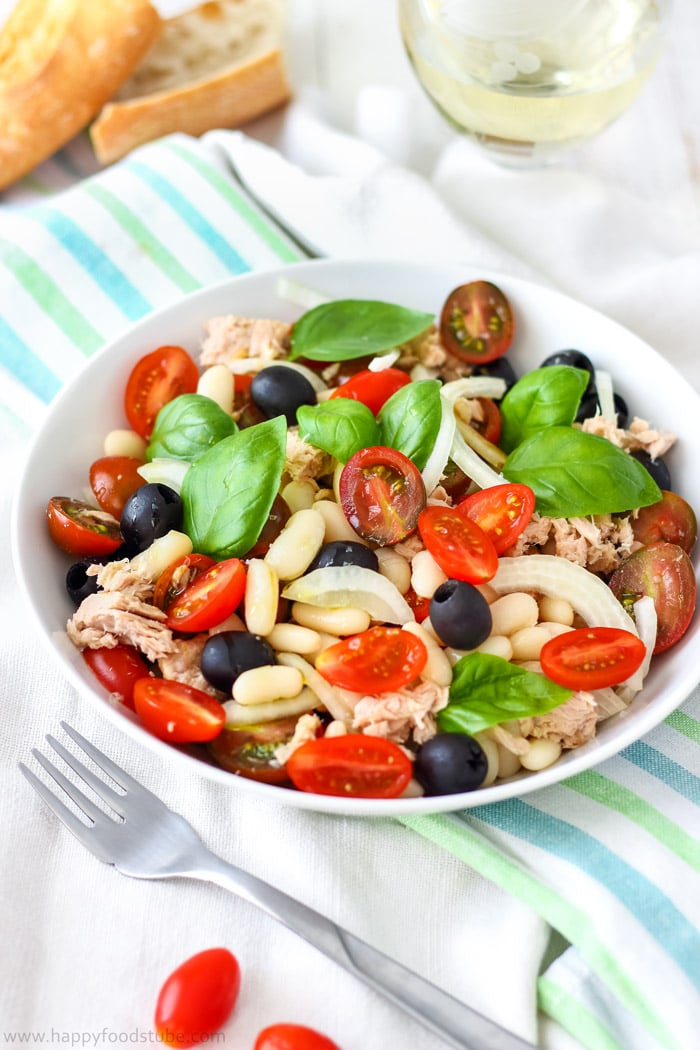 Tuna White Bean Salad Photo