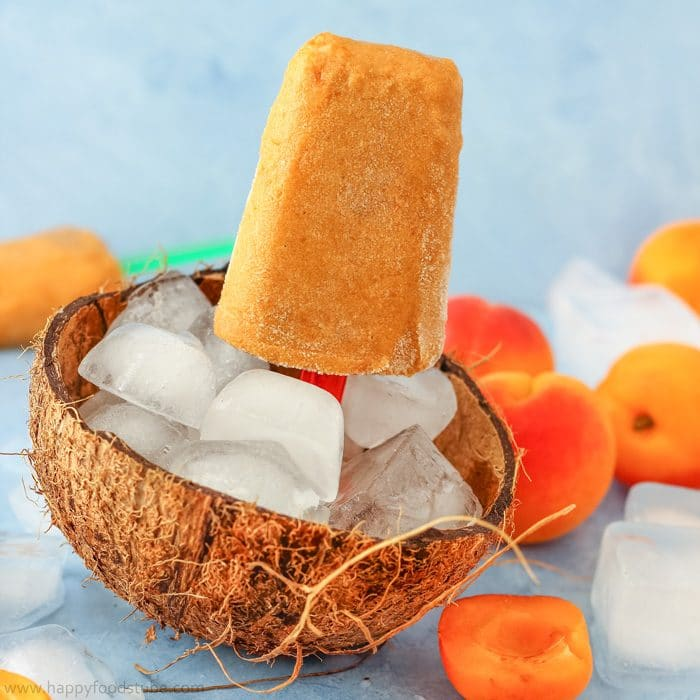 Apricot Coconut Popsicles {Video}