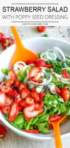Easy Strawberry Salad with Poppy Seed Dressing Recipe