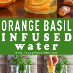 Orange Basil Infused Water Recipe Picture