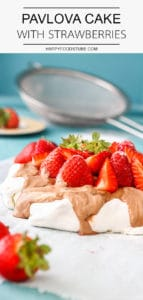 Strawberry Pavlova Cake Recipe