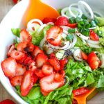 Strawberry Salad with Poppy Seed Dressing Image