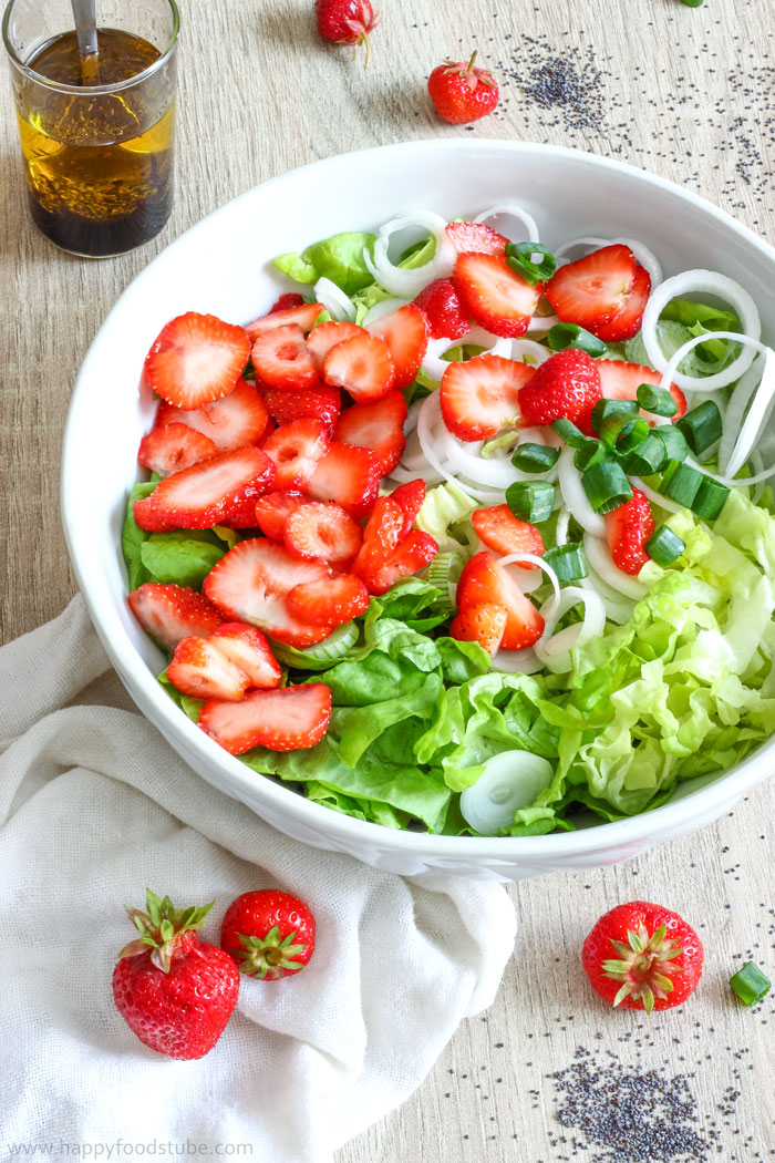 Strawberry Salad with Poppy Seed Dressing Images