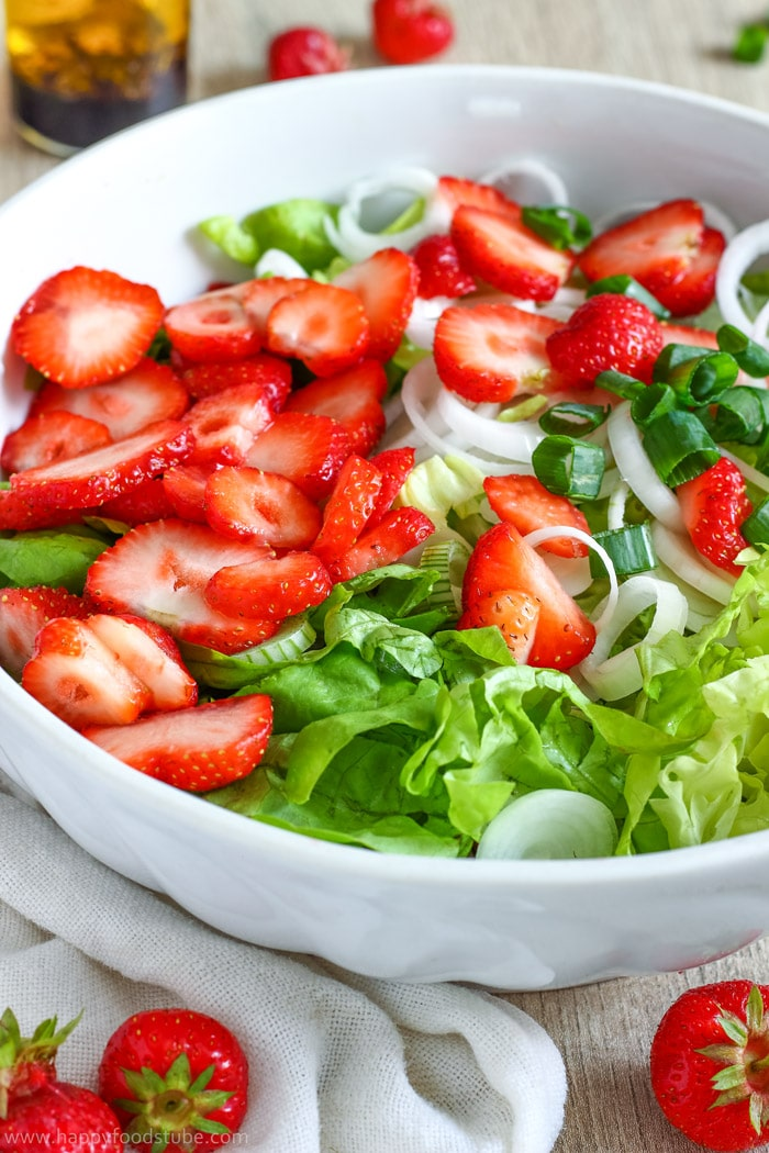 Strawberry Salad with Poppy Seed Dressing Pic