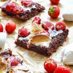 Strawberry Marshmallow Brownies Recipe