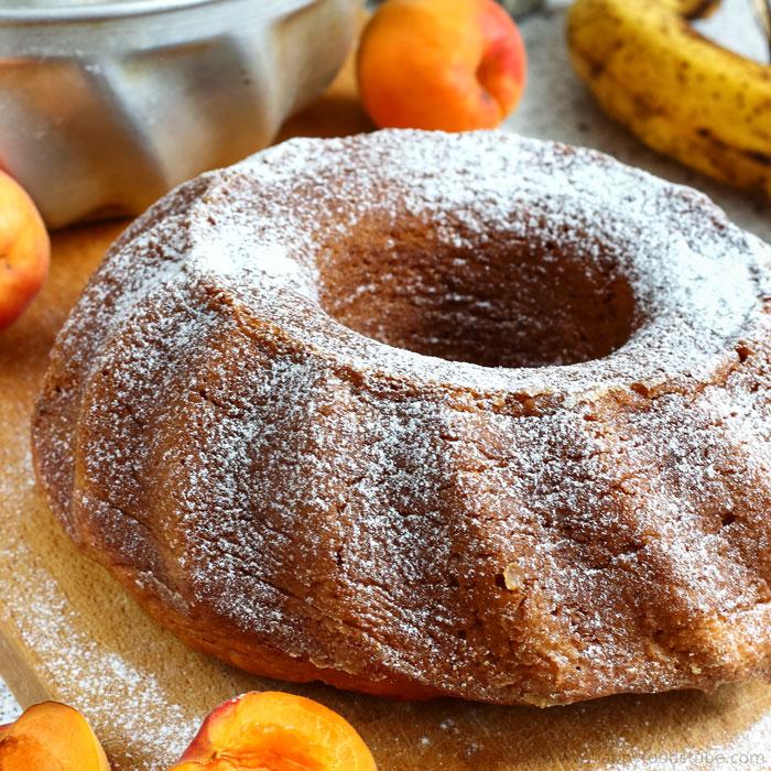 Apricot Banana Bundt Cake Image