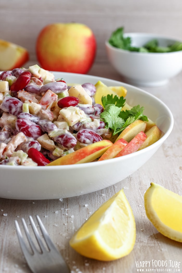 Bacon Red Bean Salad Pic