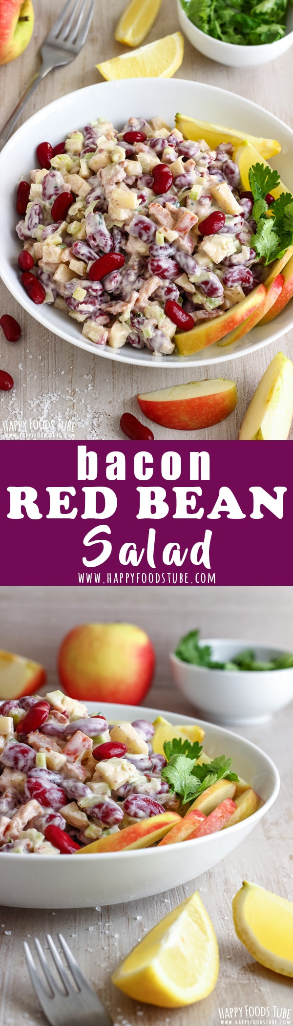Bacon red bean salad is a simple, yet delicious side made with easy to get ingredients. It's quick to make and perfect for picnics or entertaining at home. Cold red bean salad recipe