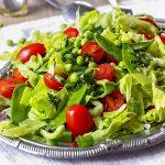 Healthy Mediterranean Green Salad Recipe