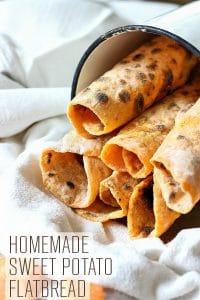 Homemade Sweet Potato Flatbread Recipe