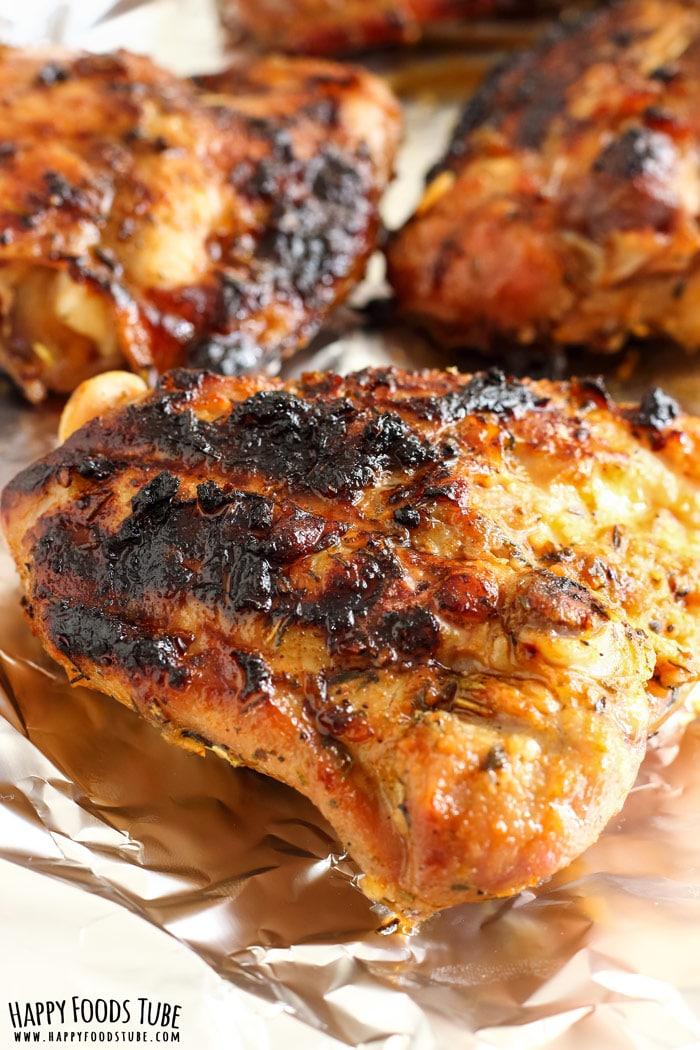 Honey Lemon Grilled Chicken Recipe Happy Foods Tube