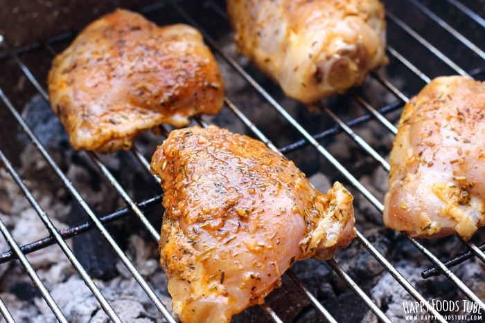 Honey Lemon Grilled Chicken Raw Picture