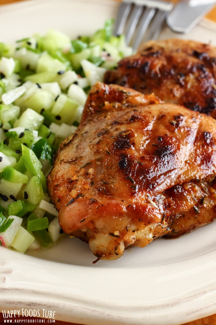 Honey Lemon Grilled Chicken Salad Picture