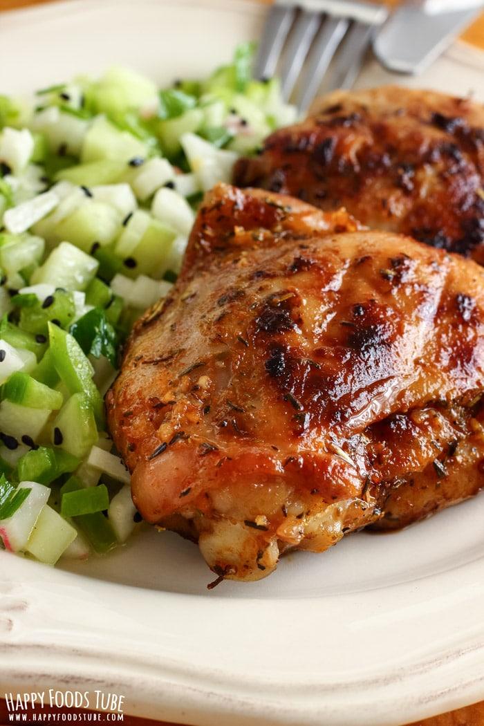 Honey Lemon Grilled Chicken Salad Picture
