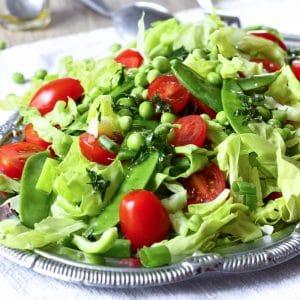 Mediterranean Green Salad Image