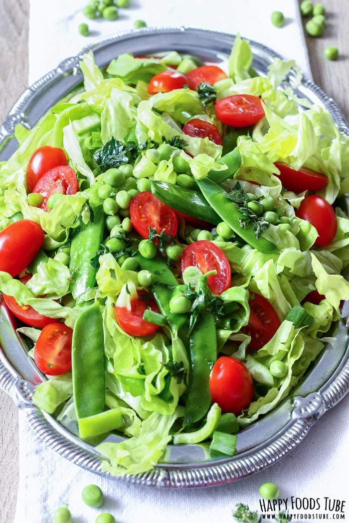 Mediterranean Green Salad Photo