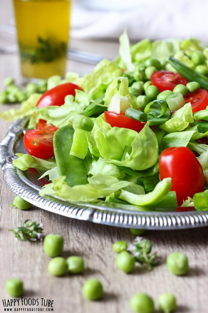 Mediterranean Green Salad Pic