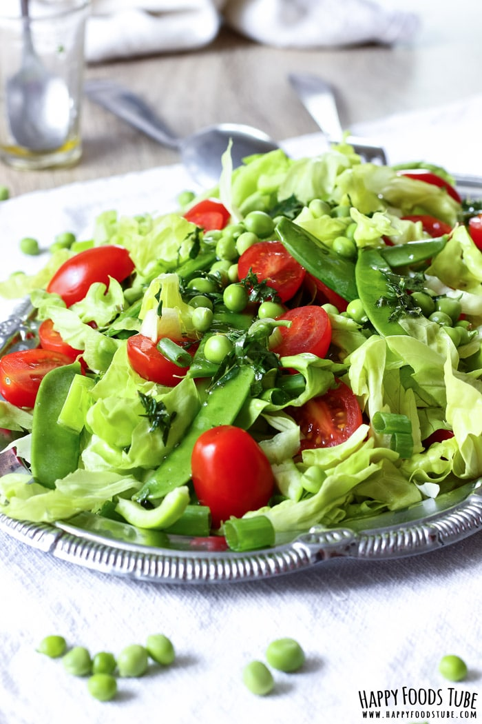 Mediterranean Green Salad Recipe Happy Foods Tube
