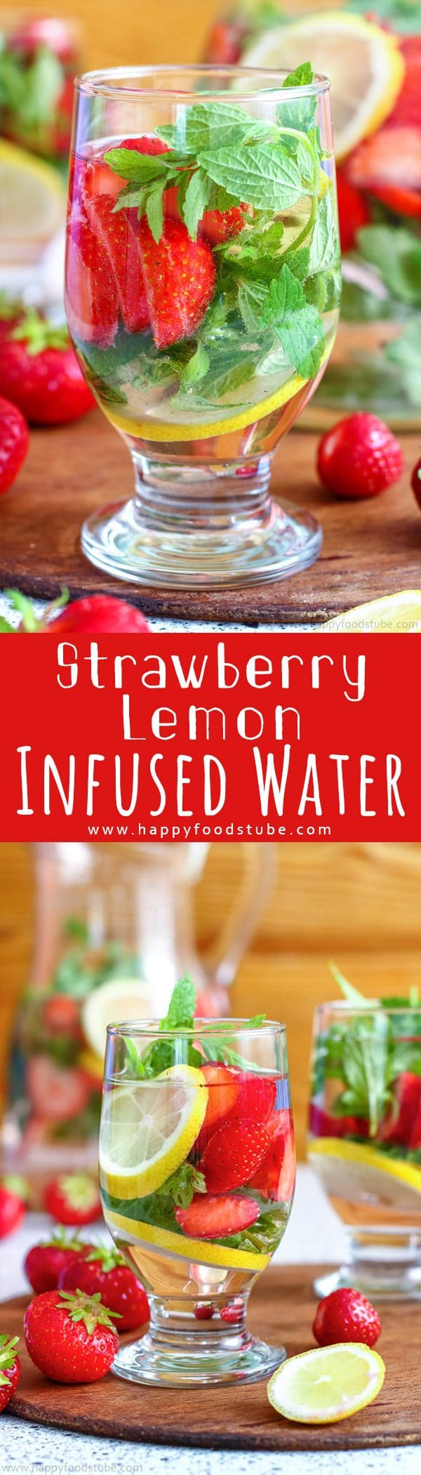 Strawberry Lemon Infused Water Recipe Picture
