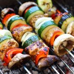 Balsamic Chicken Skewers Image