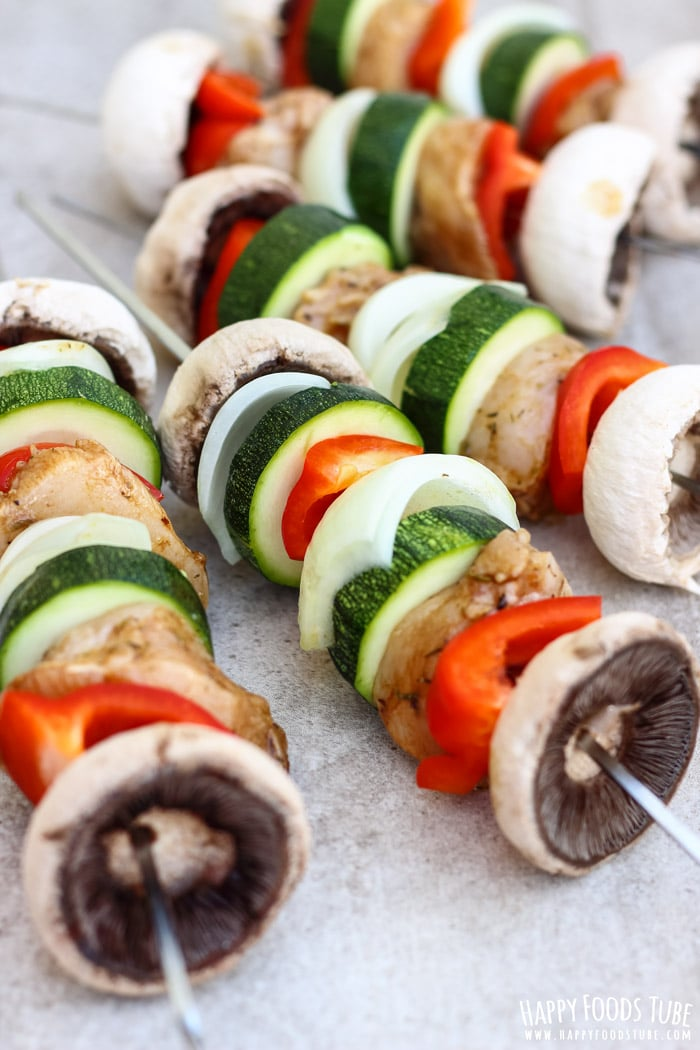 Balsamic Chicken Skewers Photo