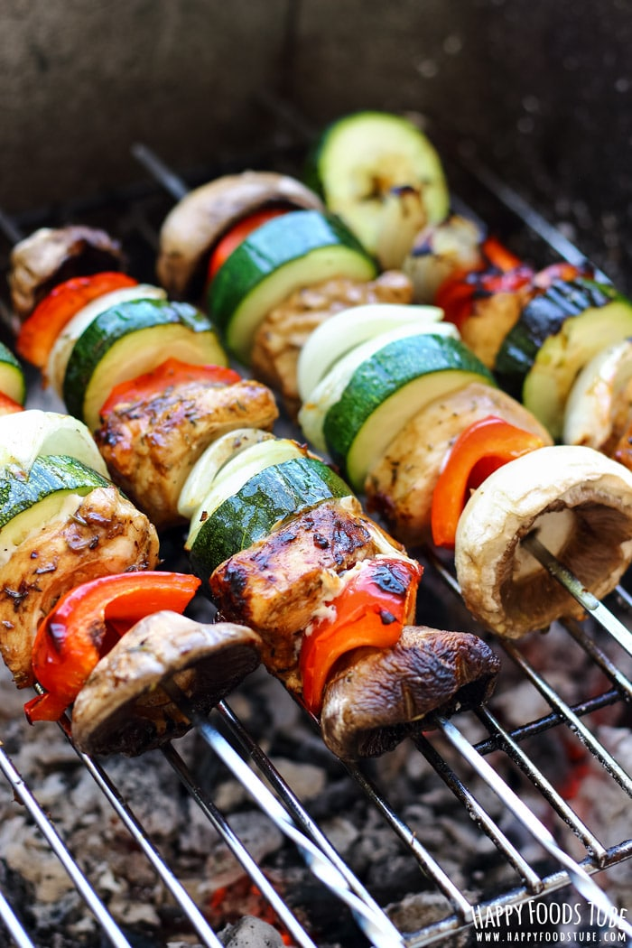 Balsamic Chicken Skewers Picture
