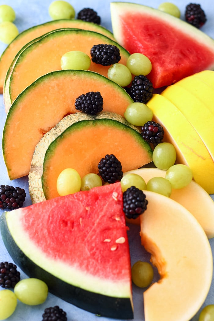 Fresh Fruit Salad Ingredients Picture