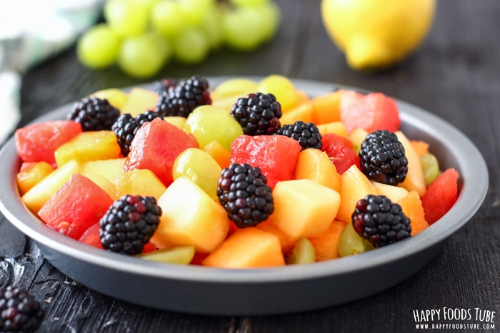 Fresh Fruit Salad with Coconut Honey Dressing Pic