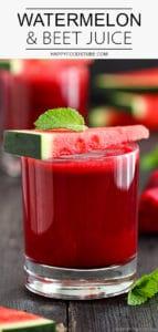Healthy Watermelon Beet Juice Recipe