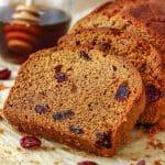 Honey Cranberry Bread Image