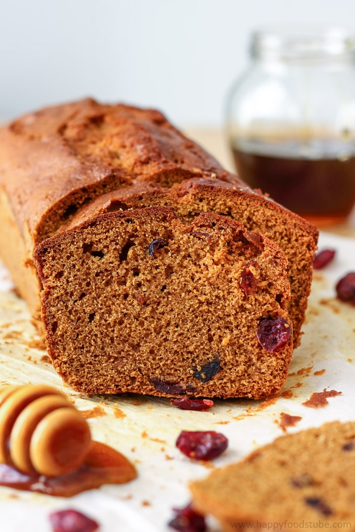 Honey Cranberry Bread Photo