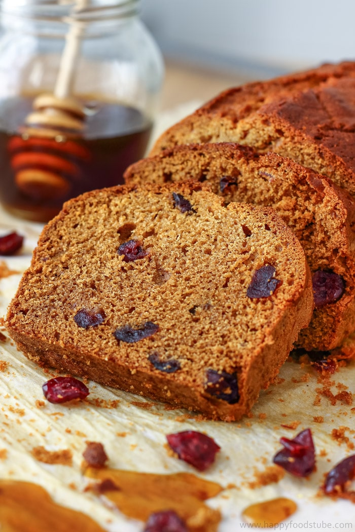 Honey Cranberry Bread Slices Picture