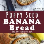 Poppy Seed Banana Bread Recipe Collage