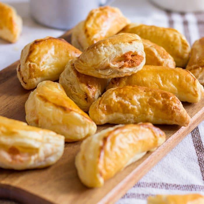 Puff Pastry Tuna Empanadas