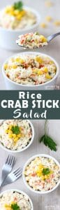 Rice Crab Stick Salad Recipe Picture